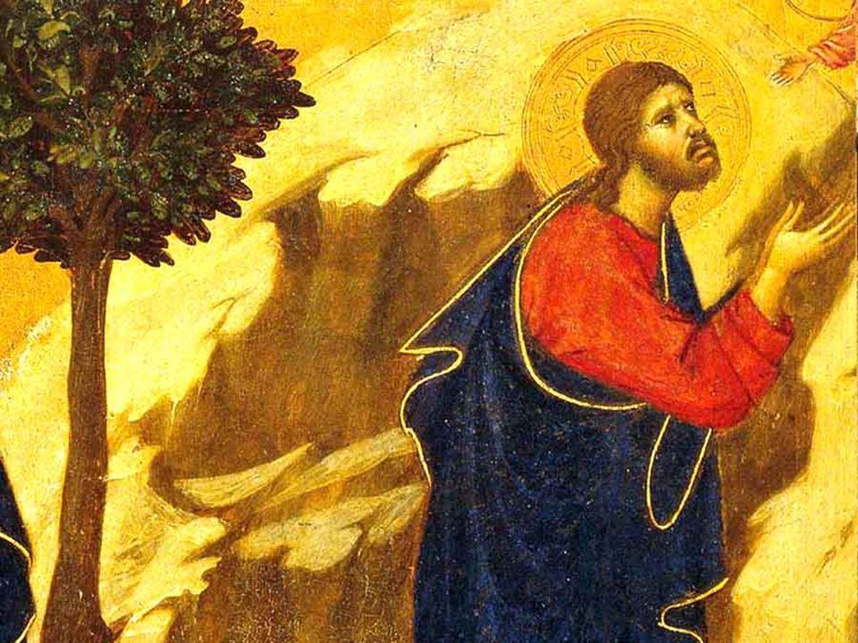 Gesù vive la sua esistenza secondo il centro della sua Persona: il suo essere Figlio di Dio. La sua volontà umana è attirata dentro lIo del Figlio, ch