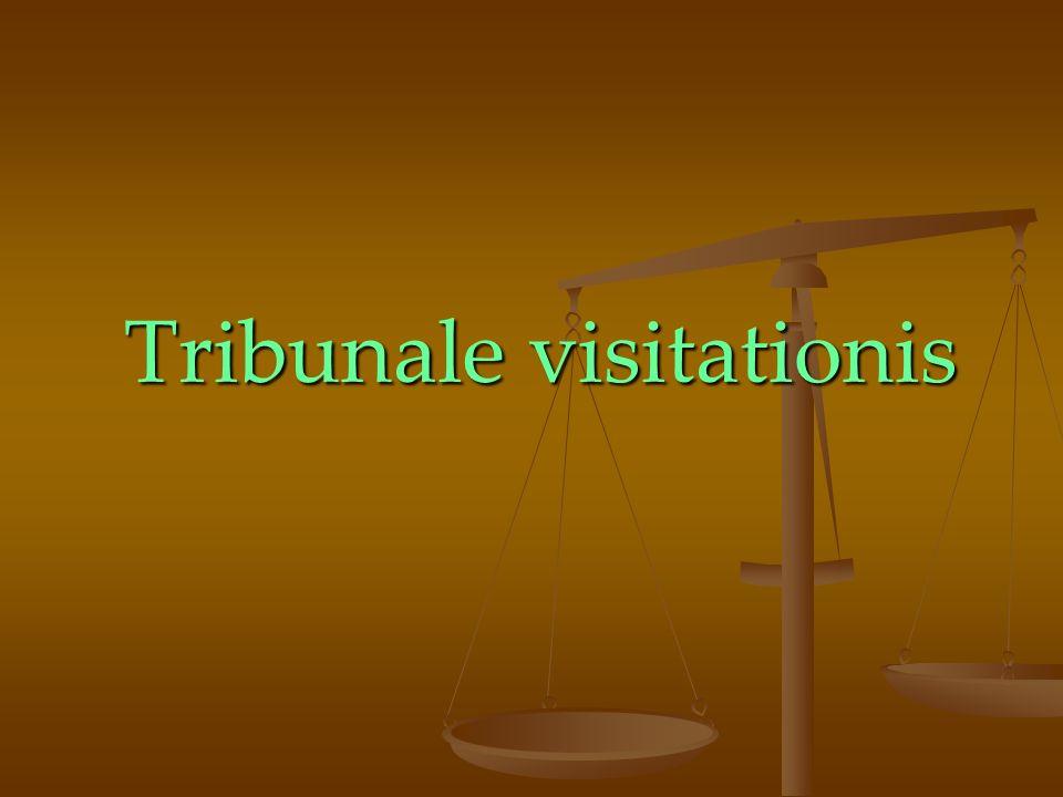 Tribunale visitationis