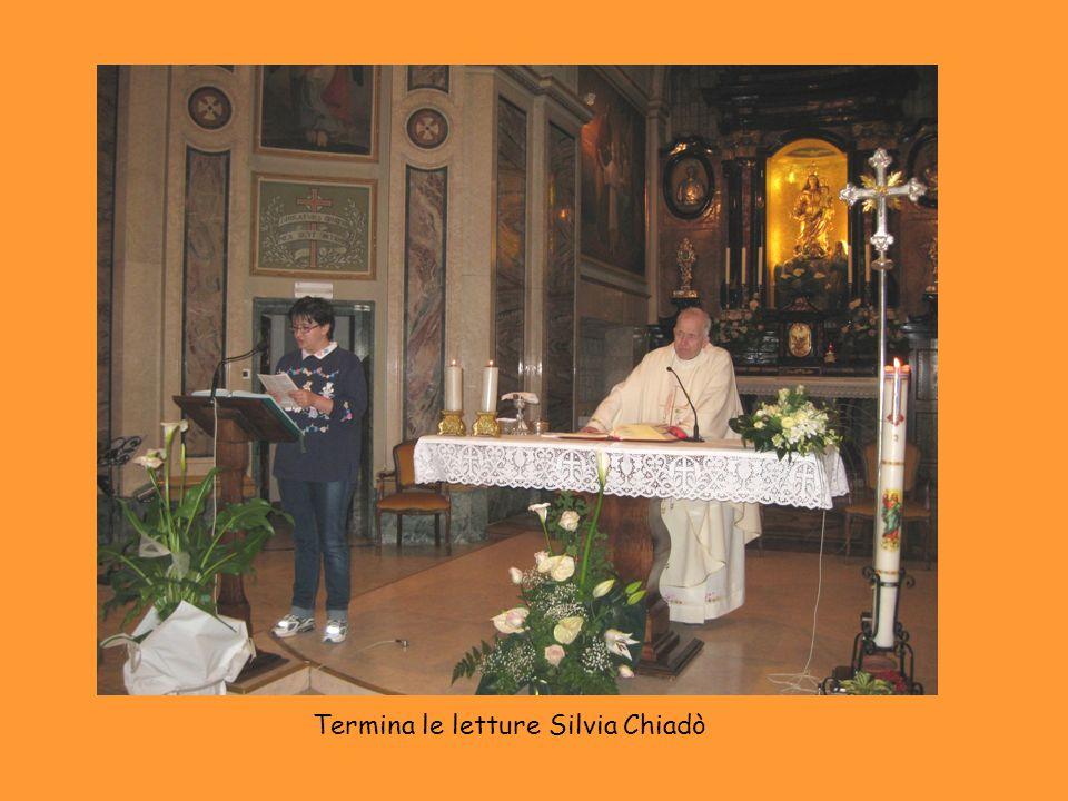 Termina le letture Silvia Chiadò