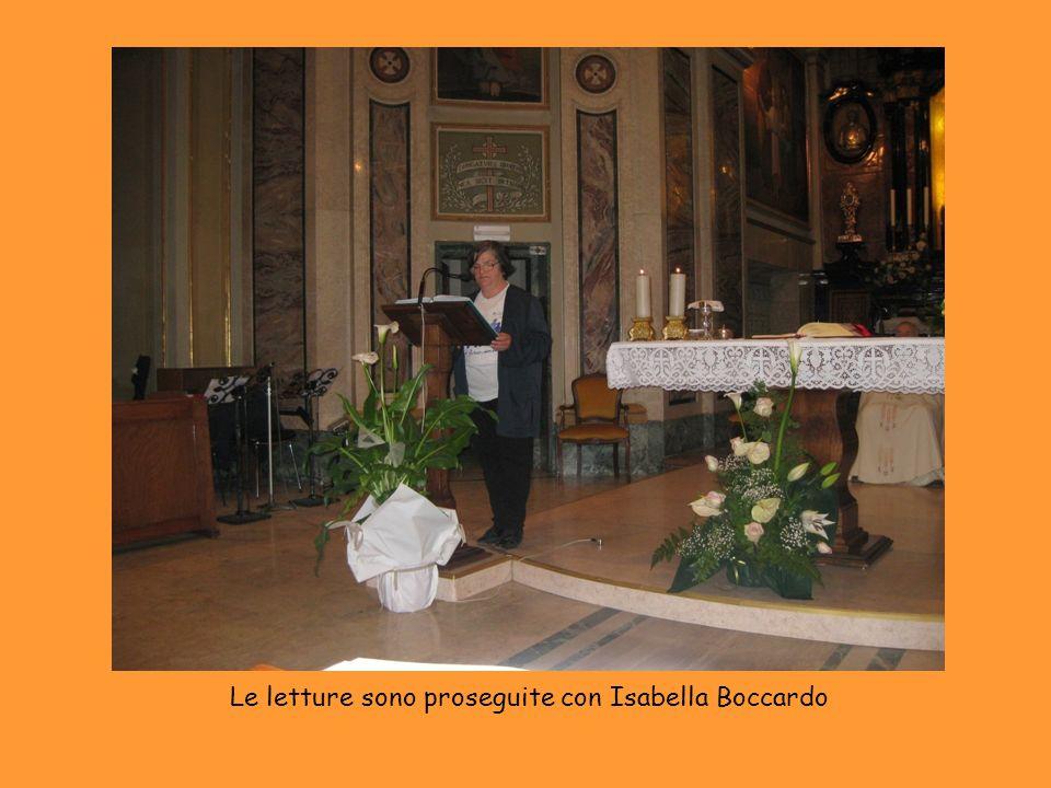 Le letture sono proseguite con Isabella Boccardo