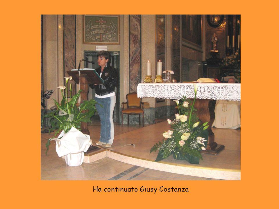 Ha continuato Giusy Costanza