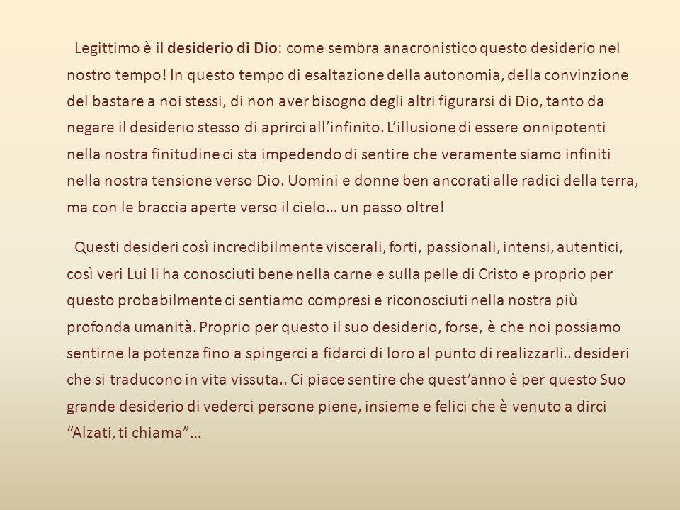 … ALZIAMOCI, Amici Adulti di Azione Cattolica… CI CHIAMA.