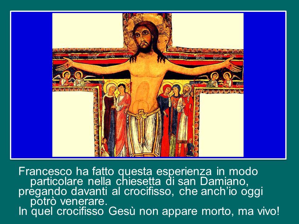 essere cristiani è un rapporto vitale con la Persona di Gesù, è rivestirsi di Lui, è assimilazione a Lui. Da dove parte il cammino di Francesco verso