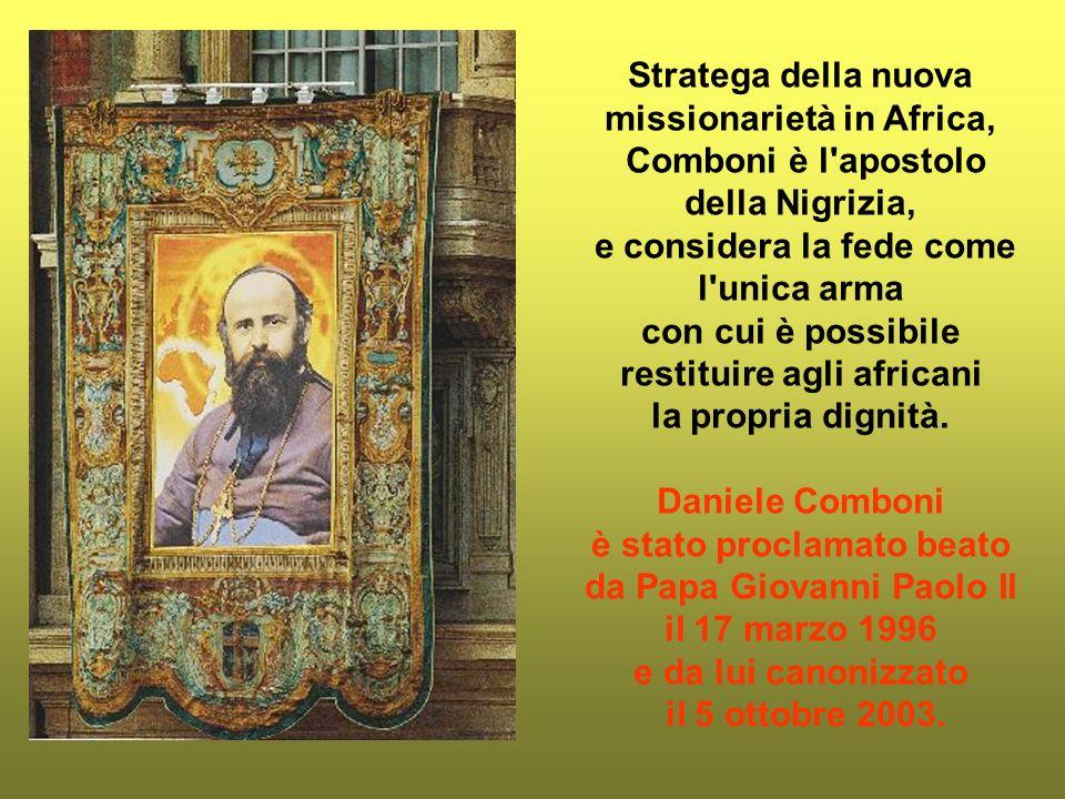 Nacque a Limone sul Garda il 15 marzo 1831, venne educato a Verona, e si forma in una orbita culturale Mitteleuropea; morto a Khartoum in Sudan il 10