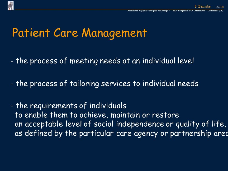 - the process of meeting needs at an individual level - the process of tailoring services to individual needs - the requirements of individuals to ena