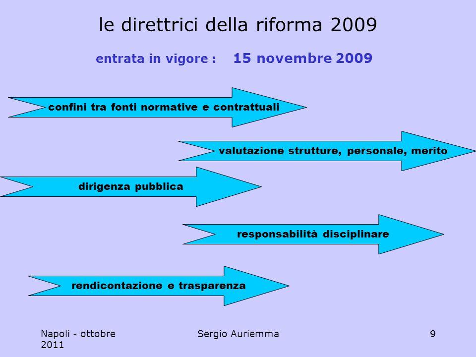 Napoli - ottobre 2011 Sergio Auriemma50 che cosa si negozia .
