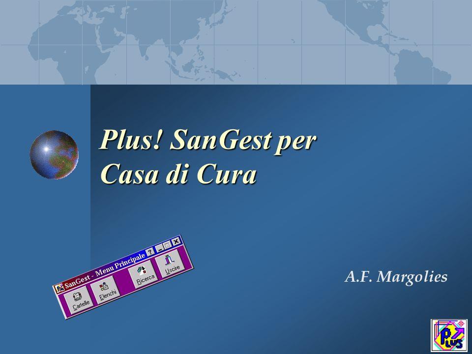 Plus.SanGest per Casa di Cura Plus. SanGest è modulare Plus.