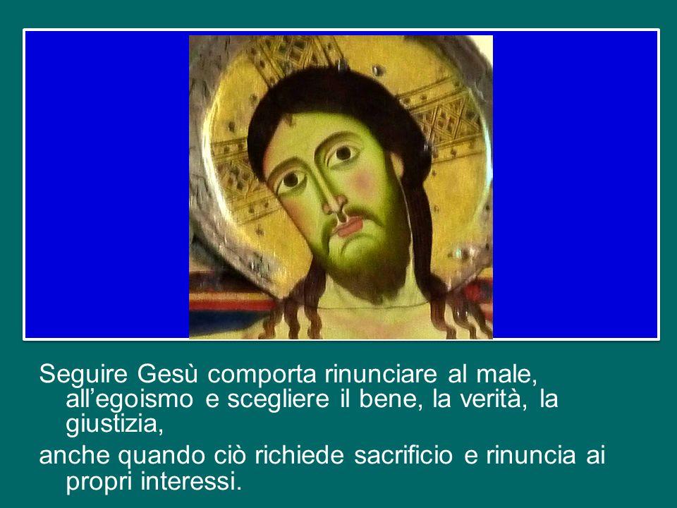 Per questo Gesù dice: sono venuto a portare divisione; non che Gesù voglia dividere gli uomini tra loro, al contrario: Gesù è la nostra pace, è la nostra riconciliazione.
