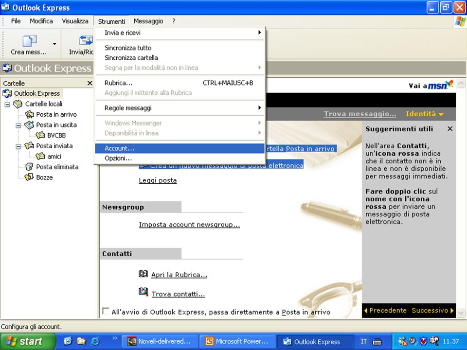 Internet e Posta elettronica Corsi UMTS 26 marzo 200342