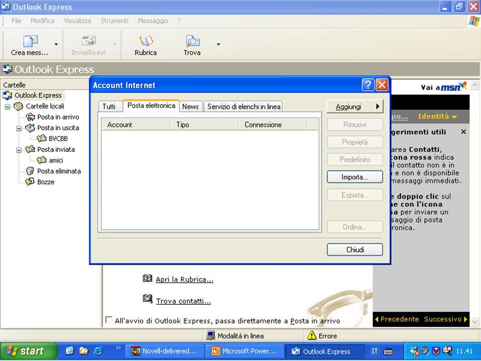 Internet e Posta elettronica Corsi UMTS 26 marzo 200343