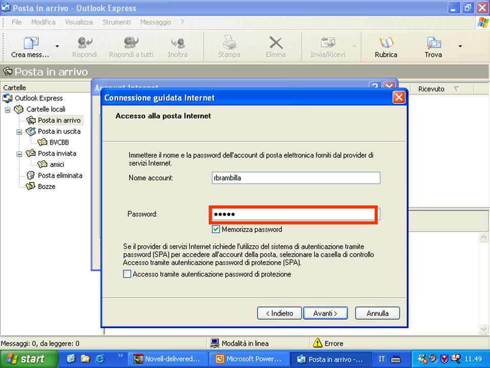 Internet e Posta elettronica Corsi UMTS 26 marzo 200348