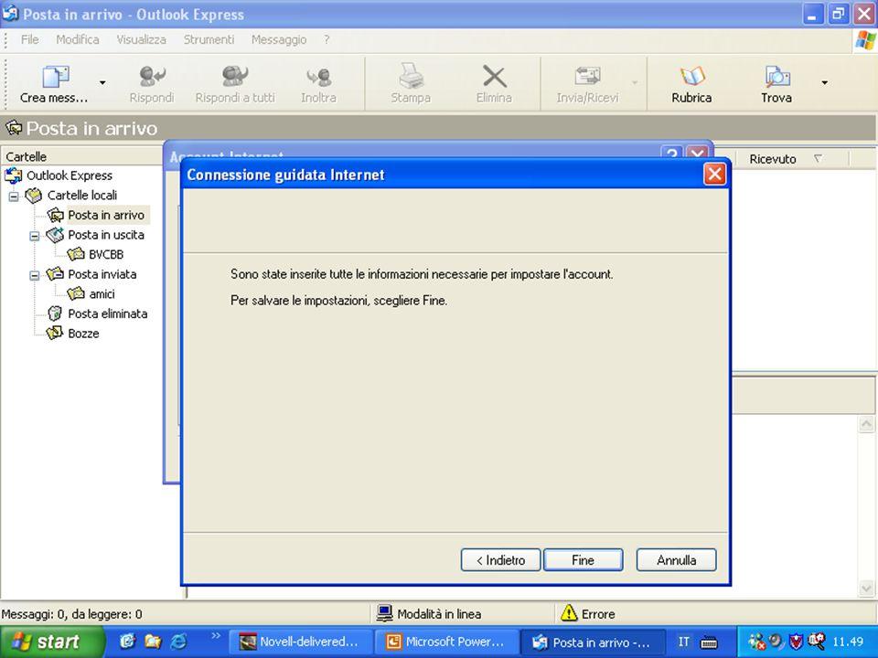 Internet e Posta elettronica Corsi UMTS 26 marzo 200349