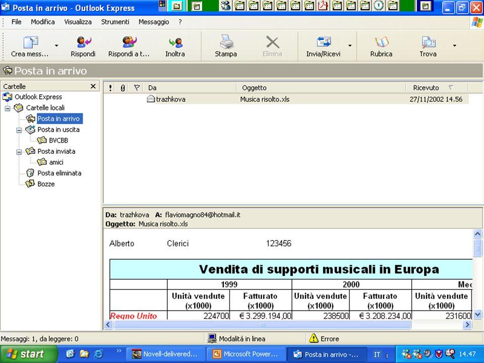 Internet e Posta elettronica Corsi UMTS 26 marzo 200354