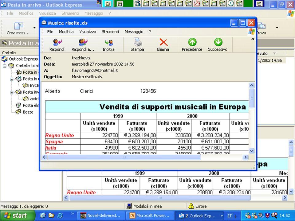 Internet e Posta elettronica Corsi UMTS 26 marzo 200355