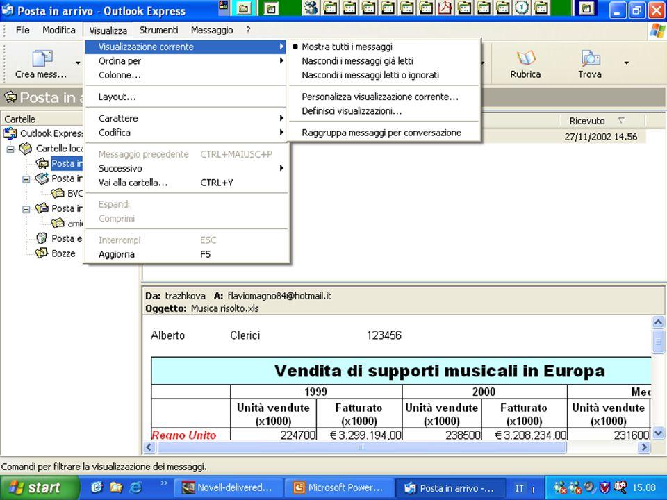 Internet e Posta elettronica Corsi UMTS 26 marzo 200357