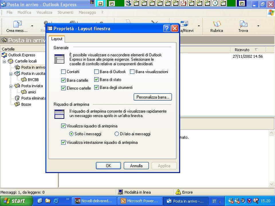 Internet e Posta elettronica Corsi UMTS 26 marzo 200359