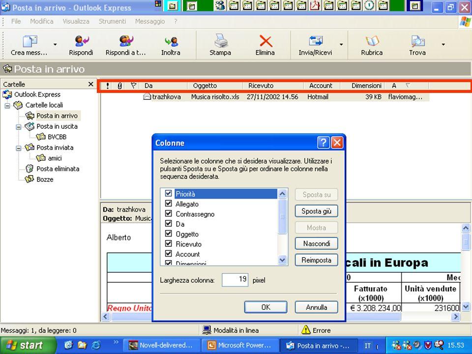 Internet e Posta elettronica Corsi UMTS 26 marzo 200361