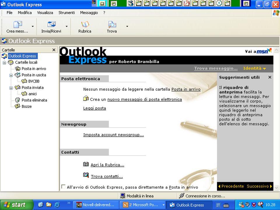 Internet e Posta elettronica Corsi UMTS 26 marzo 200365