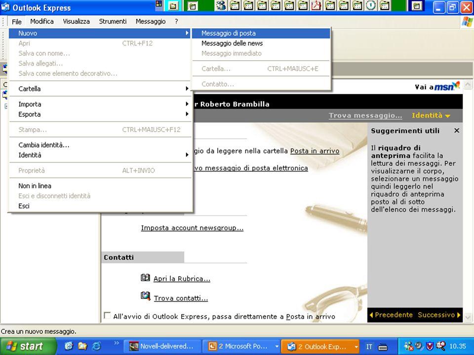 Internet e Posta elettronica Corsi UMTS 26 marzo 200366