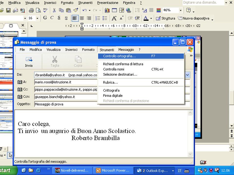 Internet e Posta elettronica Corsi UMTS 26 marzo 200369