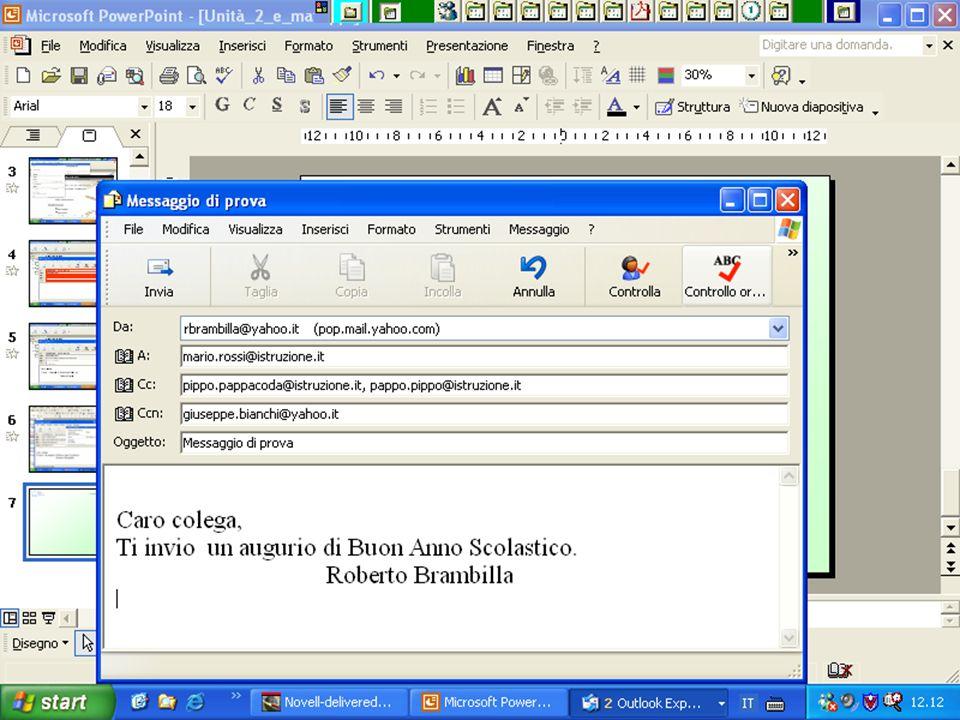 Internet e Posta elettronica Corsi UMTS 26 marzo 200370
