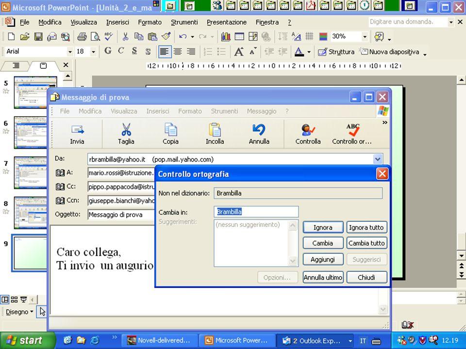 Internet e Posta elettronica Corsi UMTS 26 marzo 200372