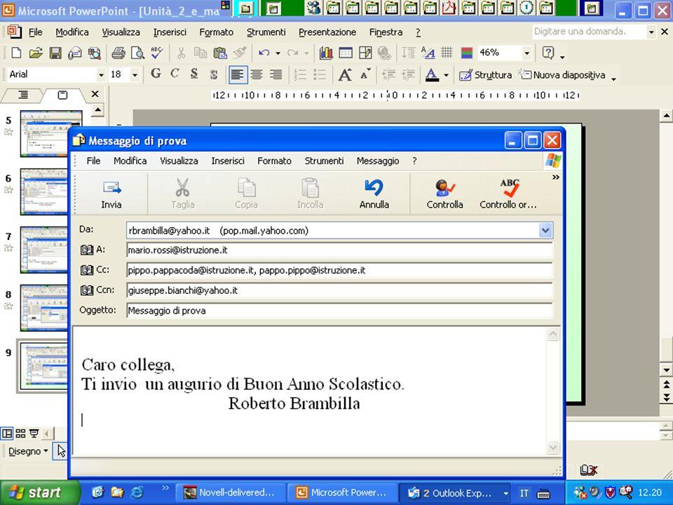 Internet e Posta elettronica Corsi UMTS 26 marzo 200373