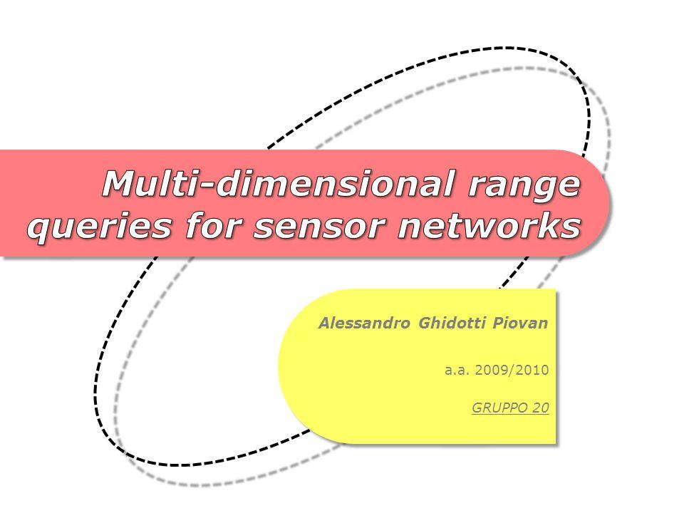 Nelle reti di sensori dati o eventi identificati da attributi aventi valori (solitamente) scalari.