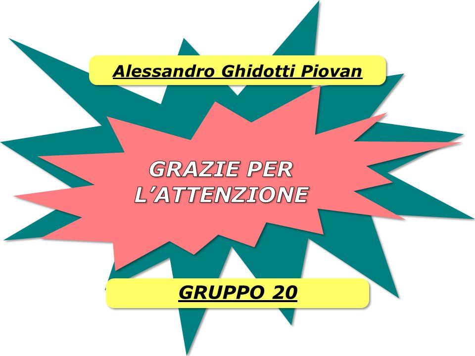 Alessandro Ghidotti Piovan GRUPPO 20