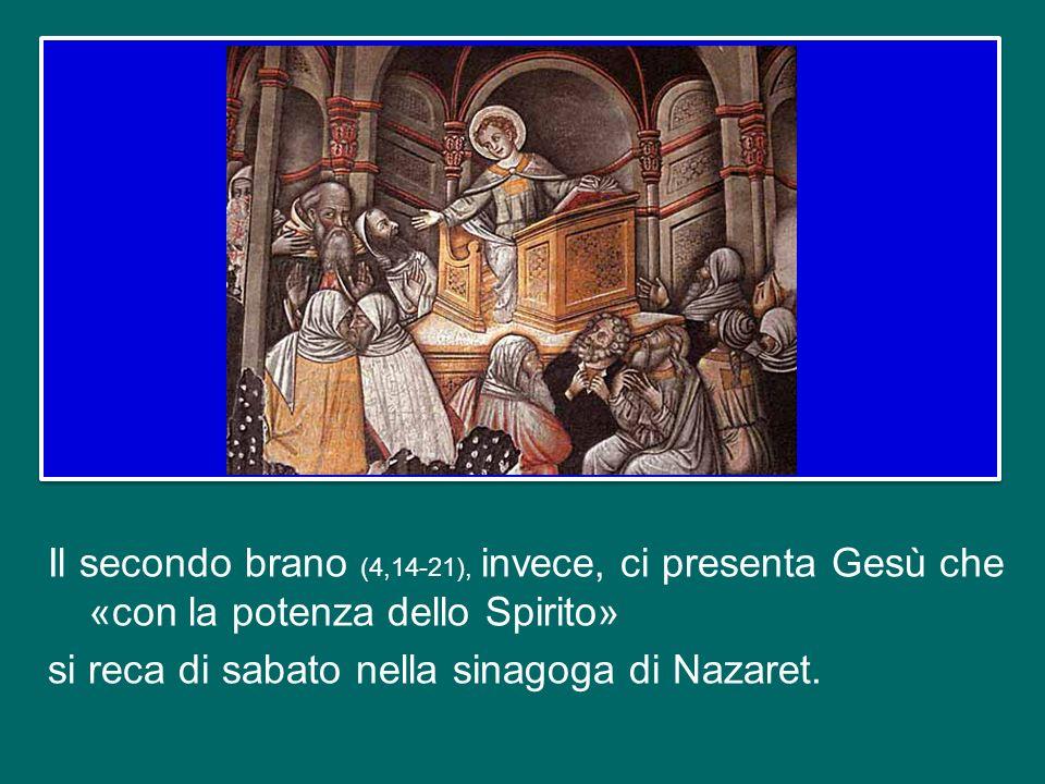 Il primo (1,1-4) è il prologo, indirizzato ad un certo «Teofilo»; poiché questo nome in greco significa «amico di Dio», possiamo vedere in lui ogni cr