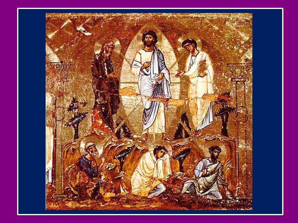 Accanto a Gesù apparvero Elia e Mosè, a significare che le Sacre Scritture erano concordi nellannunciare il mistero della sua Pasqua, che cioè il Cristo doveva soffrire e morire per entrare nella sua gloria (cfr Lc 24,26.46).