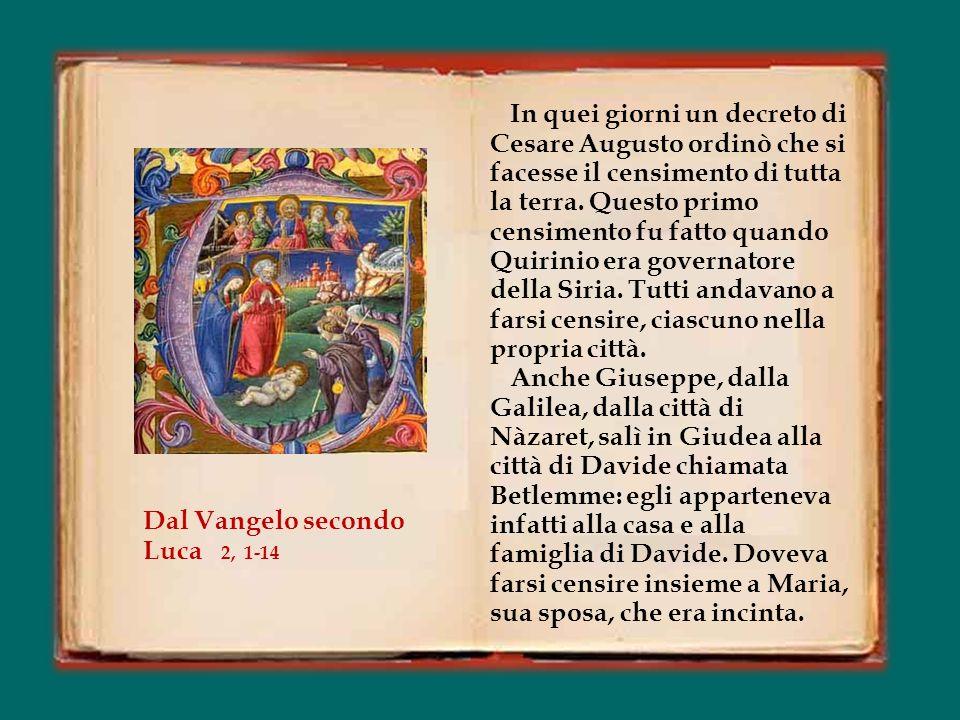 Cantáte Dómino cánticum novum, Cantate al Signore un cantico nuovo, quia mirabília fecit. perché ha compiuto meraviglie.