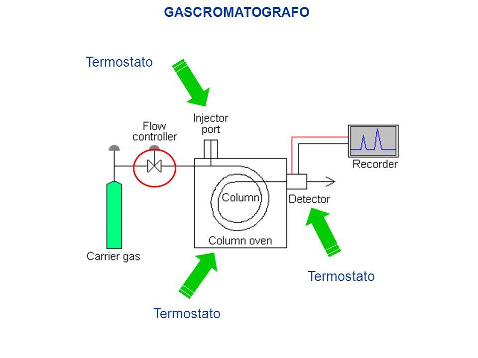 GASCROMATOGRAFO Termostato