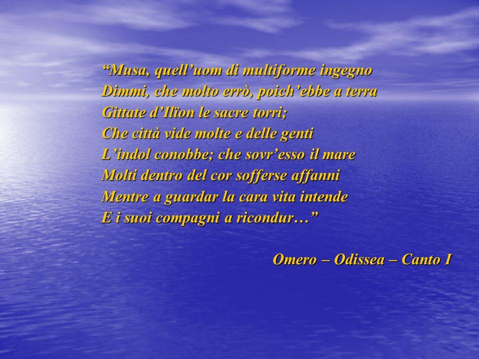 Per me Ulisse è un uomo molto intelligente ma anche astuto e rappresenta una figura potente.
