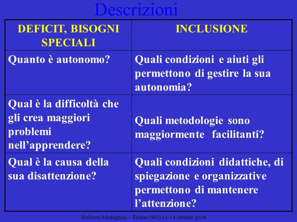 Descrizione ADescrizione B Sono presenti difficoltà nella comprensione di spiegazioni e consegne di tipo sequenziale.