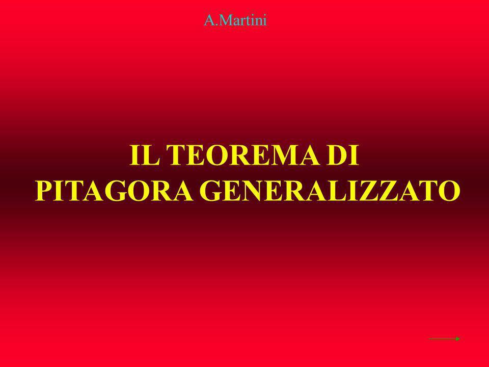 IL TEOREMA DI PITAGORA GENERALIZZATO A.Martini