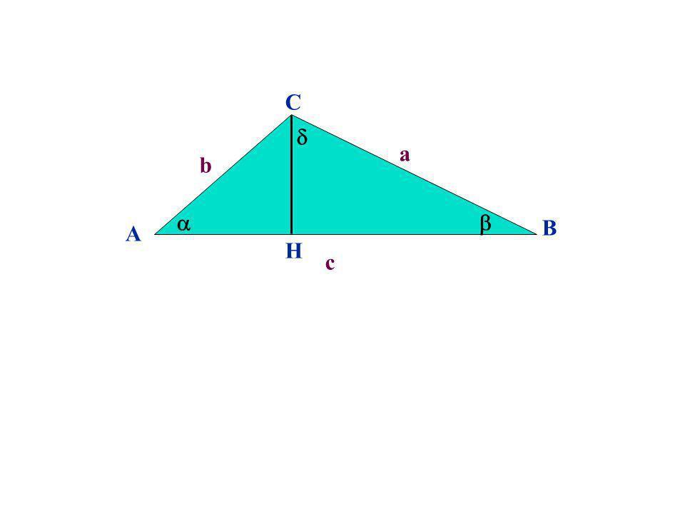 A B C b a c H