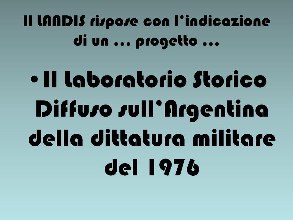 Parole del governatore militare di Buenos Aires pochi giorni dopo il golpe del 24 marzo 1976.