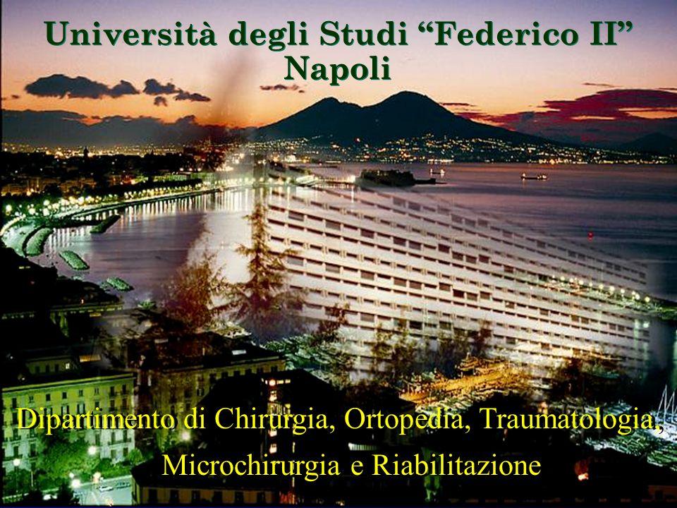 Università degli Studi Federico II Napoli Università degli Studi Federico II Napoli Dipartimento di Chirurgia, Ortopedia, Traumatologia, Microchirurgi