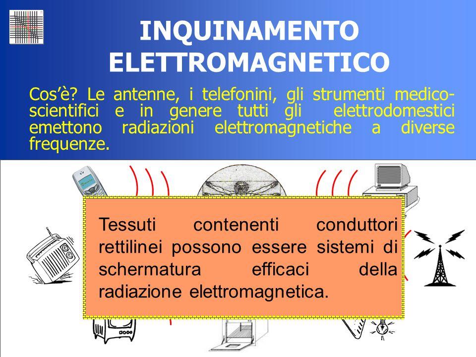 35 INQUINAMENTO ELETTROMAGNETICO Cosè? Le antenne, i telefonini, gli strumenti medico- scientifici e in genere tutti gli elettrodomestici emettono rad