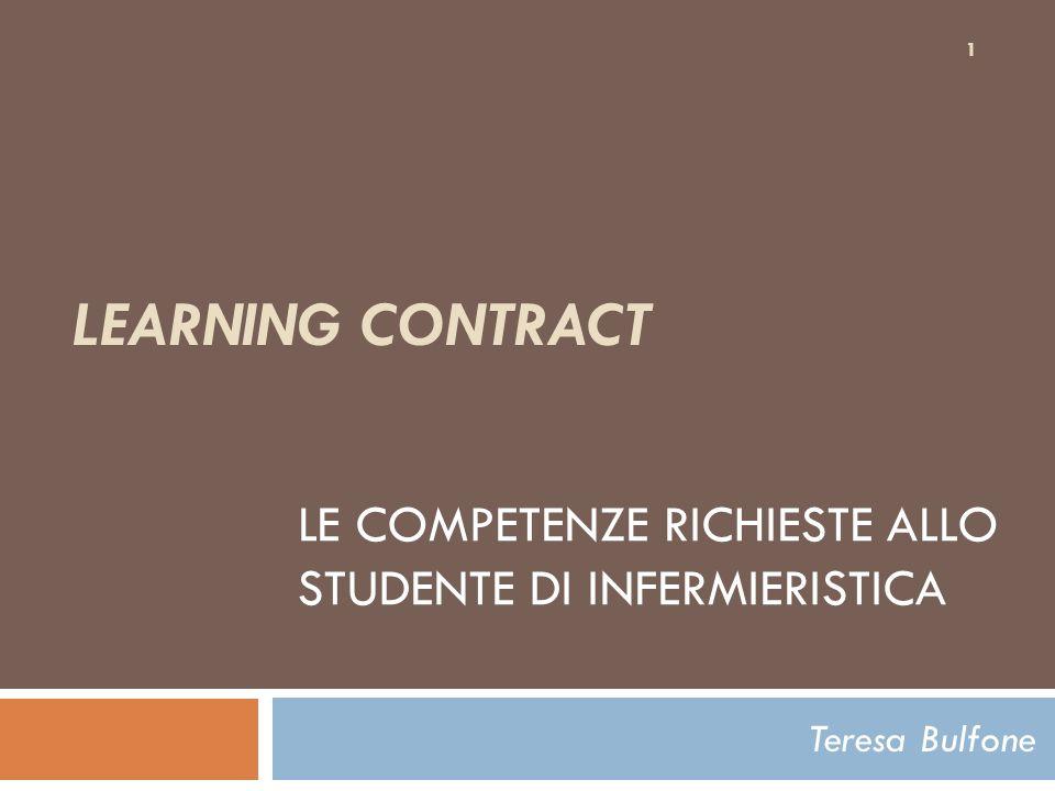 Obiettivi Conoscere i presupposti e i principi di apprendimento delladulto Riflettere sul tirocinio clinico come esperienza per sviluppare abilità di apprendimento significativo Riconoscere il contratto formativo come strategia di apprendimento autodiretto dello studente 2