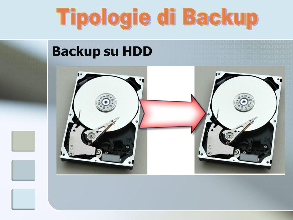 Backup su HDD