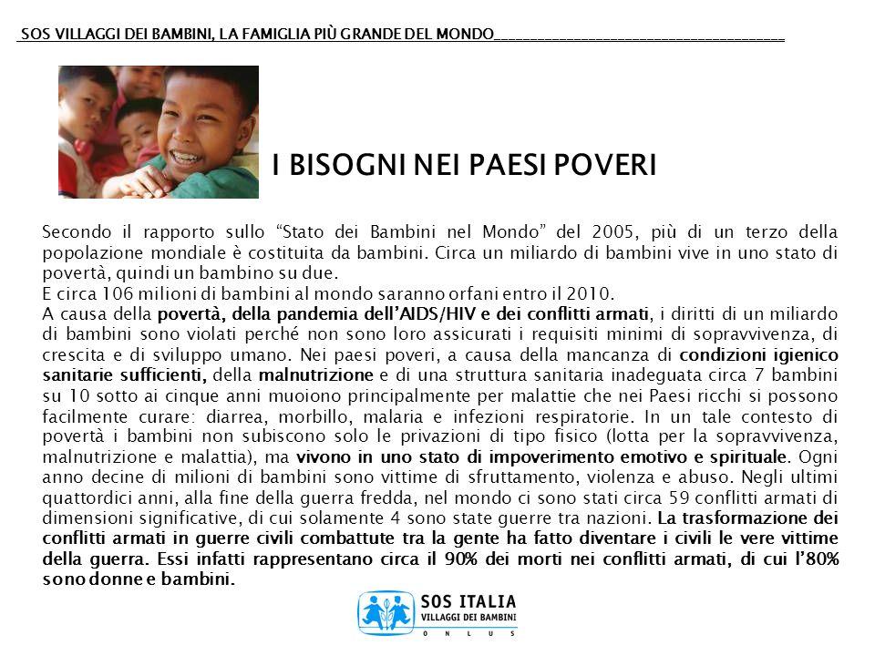 SOS VILLAGGI DEI BAMBINI, LA FAMIGLIA PIÙ GRANDE DEL MONDO________________________________________ IL CENTRO SOCIALE SOS I Centri Sociali SOS sono lespressione vitale della filosofia dei Villaggi SOS di piena integrazione e cooperazione con la comunità locale e, in particolar modo, di aiuto alle persone in difficoltà per aiutarle al superamento dei periodi difficili della loro vita.