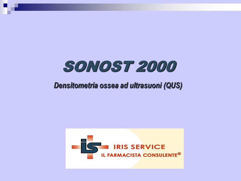 SONOST-2000 Facile da usare (PC) Economico (Compatto) Misurazione dal tallone Senza uso di gel Compatto e contenuto nei costi Densitometro osseo ultrasuono