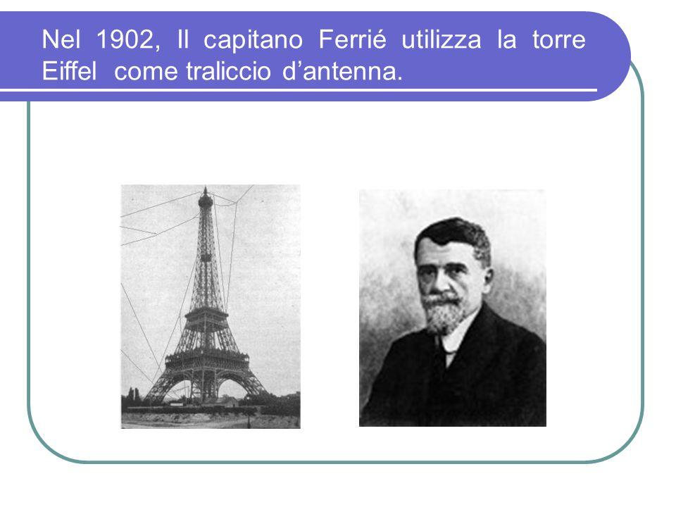 Tra il giugno e il settembre del 1902 Marconi effettua una campagna di esperimenti con lincrociatore Carlo Alberto nei mari dEuropa. Da Cape Lizard, a