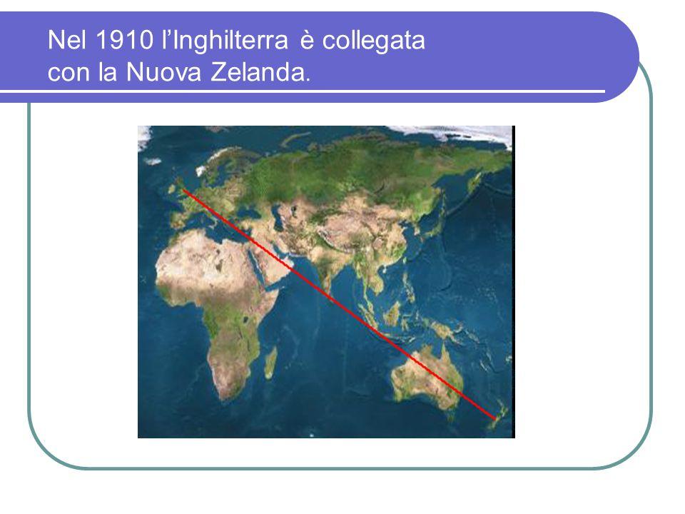 IL NOBEL Il 1° dicembre 1909 a Stoccolma viene conferito a Guglielmo Marconi il premio Nobel per la fisica, assieme a Ferdinand Braun.