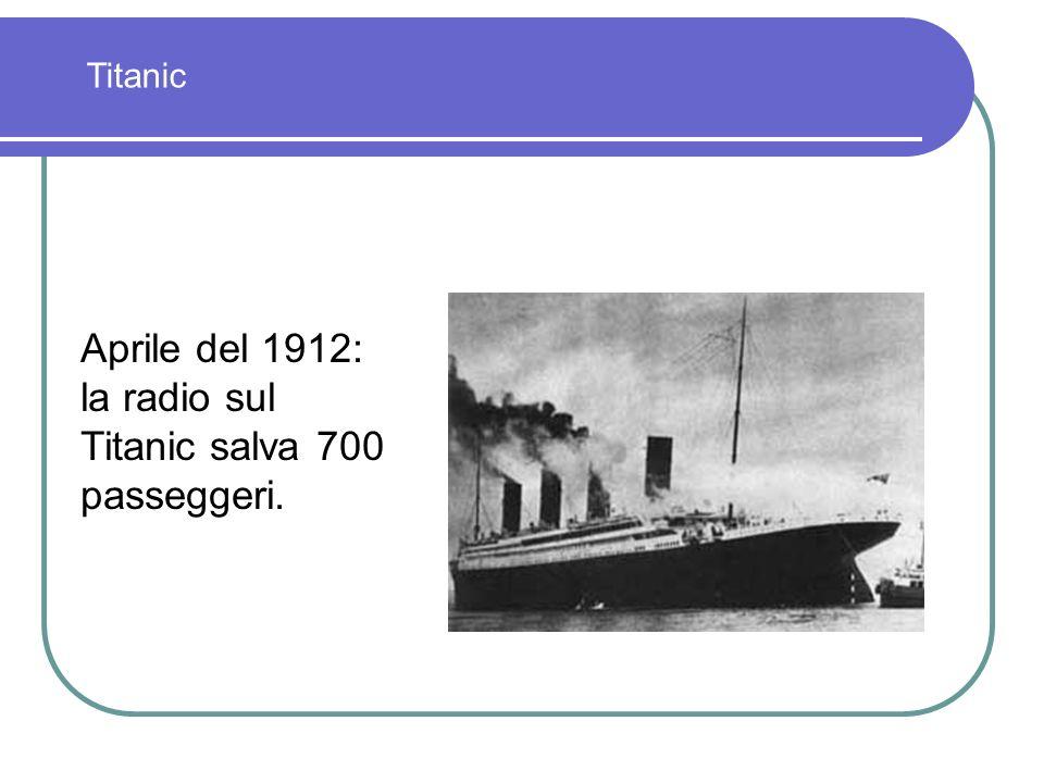 Nel novembre del 1911 si inaugura a Coltano presso Pisa con il Re Vittorio Emanuele III la stazione intercontinentale ad onde lunghe. Collegamento: Co
