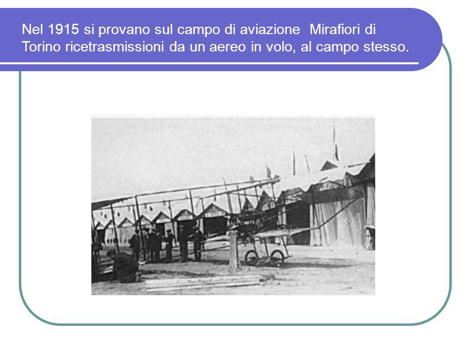 1914 Negli Stati Uniti, Hiram Percy Maxim, fonda la A.R.R.L. In Inghilterra inizia lattività dei radioamatori.