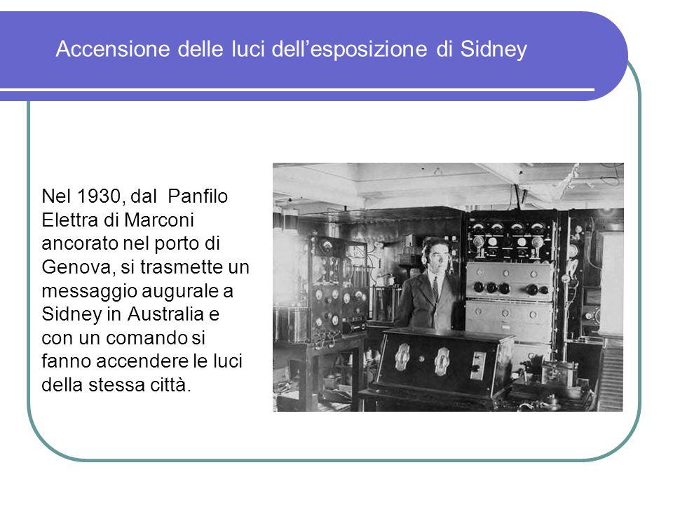 1° progetto per microonde. Dal 1928 al 1937, Marconi si occuperà di esperimenti sui Radar e sulle radioguide.
