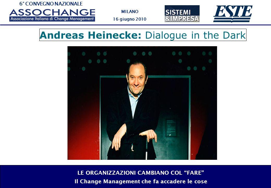 6° CONVEGNO NAZIONALE MILANO 16 giugno 2010 LE ORGANIZZAZIONI CAMBIANO COL FARE Il Change Management che fa accadere le cose Ibrahim Abouleish: Sekem